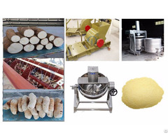 Cassava Peeling Machine Cutter