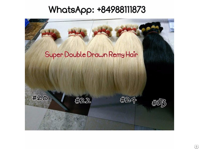Super Double Drawn Remy Hair Best Wholesale Price