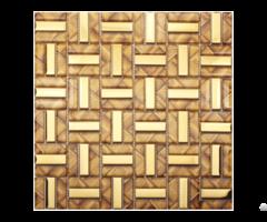 Crystal Glass Tiles Plated Tile Kitchen Wall Backsplash Strip Pattern
