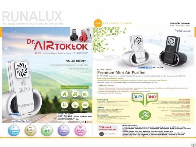 Air Purifier Datt 10w