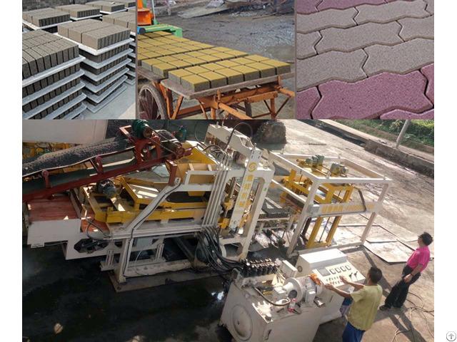 China 2017 New Hot Sale Interlocking Clay Concrete Hollow Earth Brick Making Machine