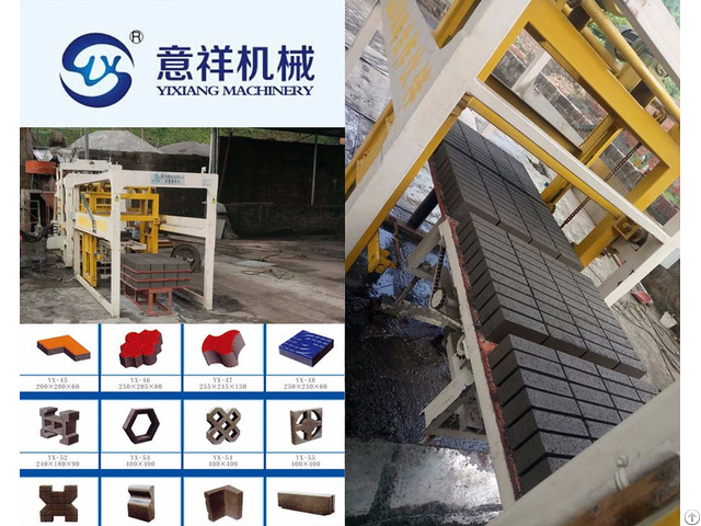 Eco Friendly Low Price Qualified Yxqt6 15 Fully Automatic Clay Bricks Making Machine