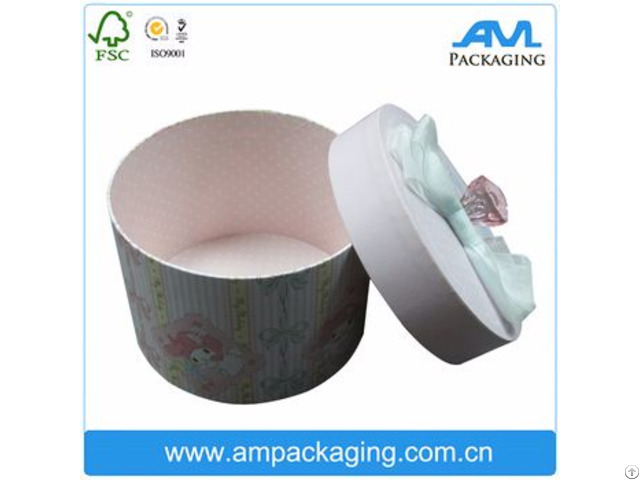 Hingh End Customized Round Gift Packaging Box