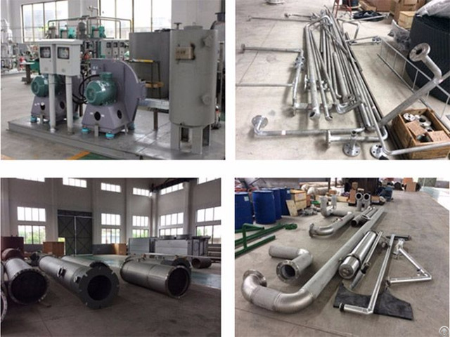Co2 Production Plant From Combustion