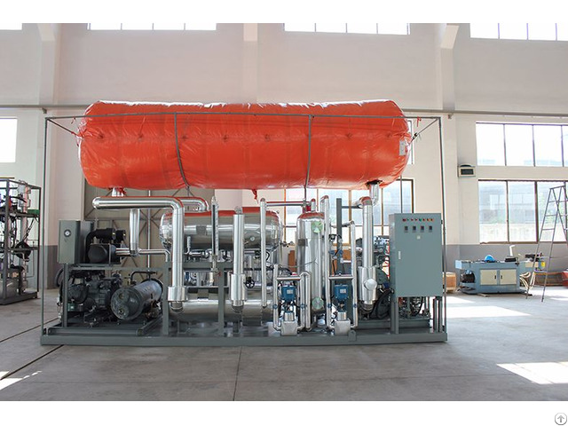 Co2 Revert Recovery Plant From Dry Ice Production