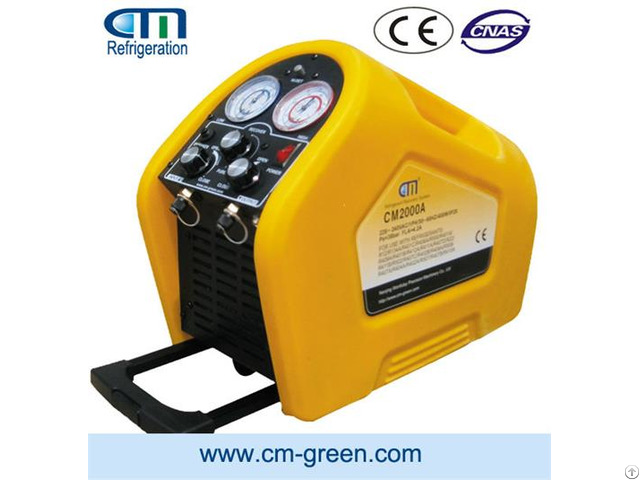 Portable Refrigerant Recovery Machine