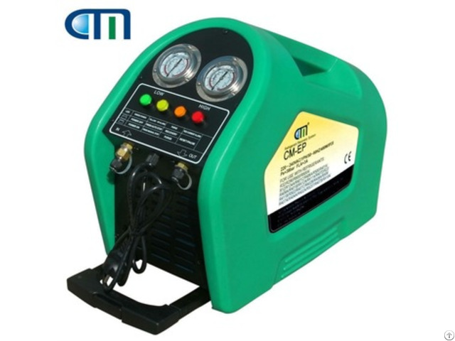 Cm Ep Anti Explosive Refrigerant Recovery Machine For Hc Refrigerants