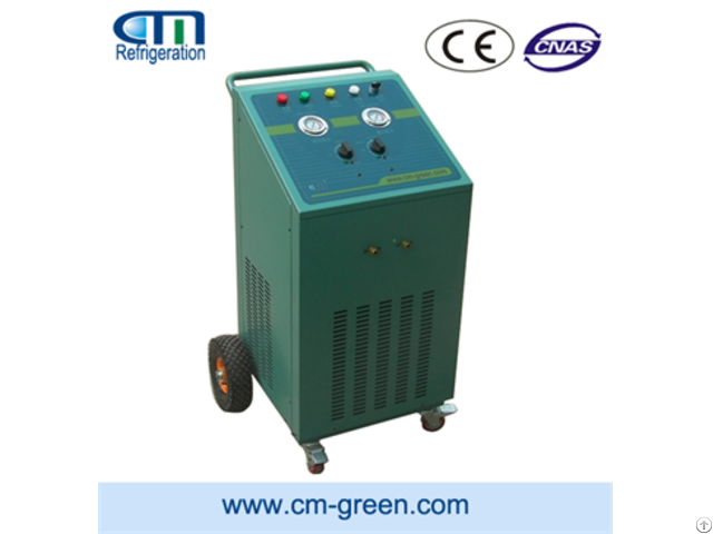 Cm7000 Refrigerant Recovery Machine For Screw Units