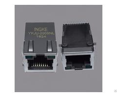 J3011g21wnlt Smt 10 100 Base T Rj45 Magjack Connectors