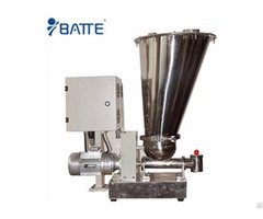 Batte Hot Sale Hopper Screw Feeder For Rubber Extruder Bat Mf Ss 38
