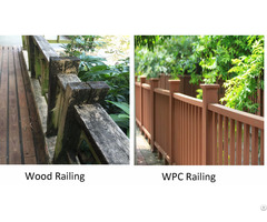 Direct Factory Supply Wpc Railing
