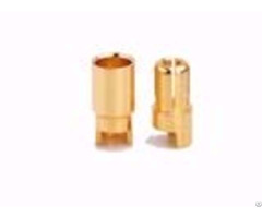 Amass R C Gold Plated 6 0mm Bullet Connectors