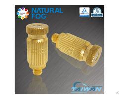Taiwan Natural Fog Brass Mist Nozzle