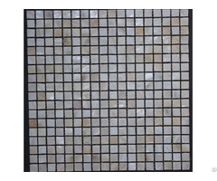 Mother Of Pearl Mosaic Shell Tile Small Square Backsplash Border Tiles For Bathrooms