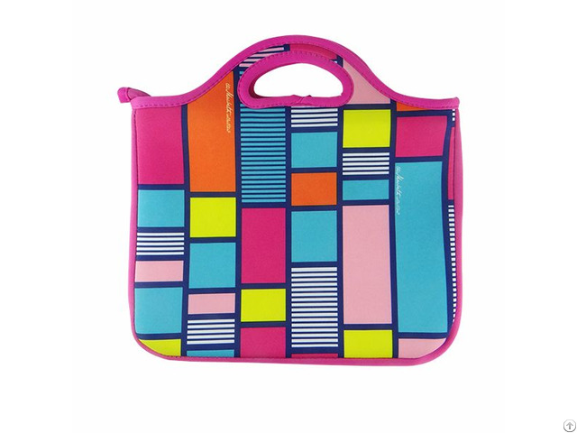 Neoprene Laptop Bag With Tote