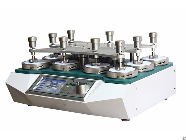 Martindale Abrasion And Pilling Test Machine