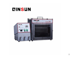 Horizontal Flammability Test Machine