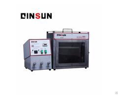 Horizontal Flammability Test Machine