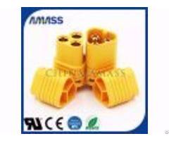 High Current Connector Transmission 3pin Plug Mt60 For Drone