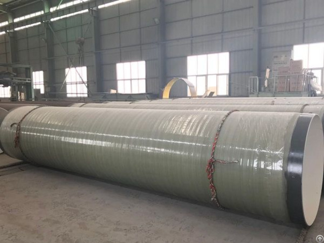 Abrasion Resistant Epoxy Glass Fiber Anti Corrosion Steel Pipe