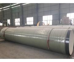Abrasion Resistant Epoxy Glass Fiber Anti Corrosion Steel Pipe