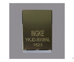 Ykjd 8008nl 100% Cross 13f 64gyd2snw2nl Rj45 Magnetic Jack Connector