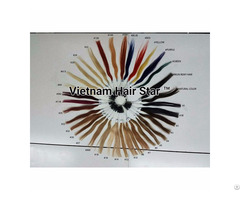100% Human Hair Color Chart