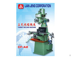 Vertical Turret Milling Machine Lian Jeng Corp