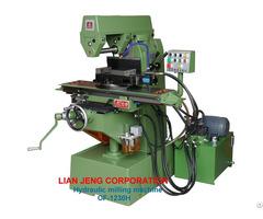 Hydraulic Milling Machine Lian Jeng
