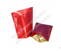 Customized Stand Up Ziplock Plastic Coffee Bean Packaging Bag