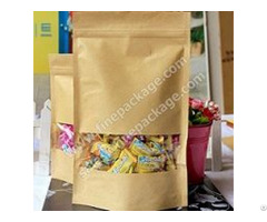 Snack And Candy Craft Paper Packaging Bags