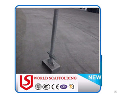 U Head Jack Adjustable Scaffolding Screw Base