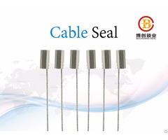 Wire Cable Seal Manufacturer In India