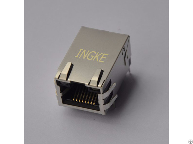 Jd1 0001nl Ykgu 8199nl Through Hole Rj45 Magnetic Jack Connector