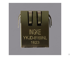 Ingke Ykjd 8169nl 100% Cross 7499011121a Through Hole Rj45 Jacks With Magnetics