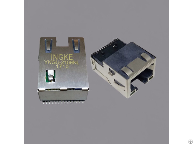 We 7498111120r Ykgu 2109nl Smt Rj45 Magnetic Modular Jacks