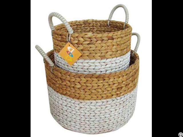Water Hyacinth Basket Lan Innovation
