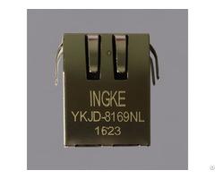 Ingke Ykjd 8169nl 100% Cross 7499011121a Through Hole Rj45 Jacks With Magnetics