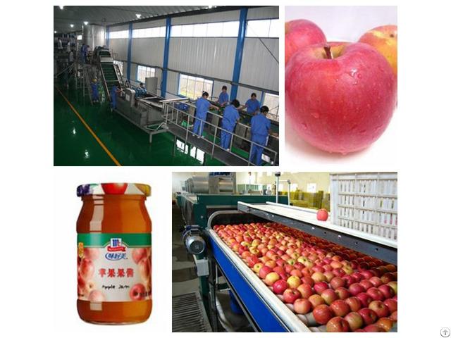 Apple Jam Processing Line