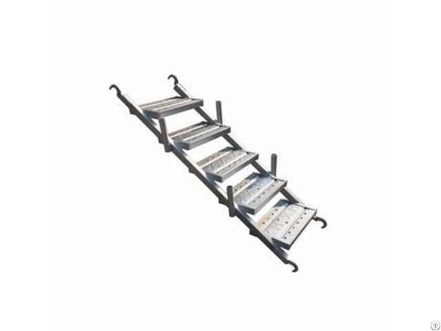 Hot Dipped Galvanized Scaffolding Steel Ladder Beam With Long Service Life