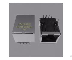 Ingke Ykjd 8008nl 100% Cross J0011d01bnl Through Hole Magnetics Rj45 Jacks