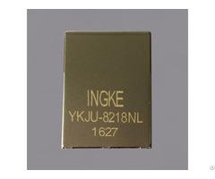 Ykju 8218nl 100% Cross 6605760 3 Rj45 Jacks With Integrated Magnetics