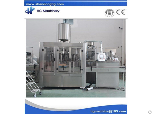 Juice Filling Machine For 1000 3000 Bph