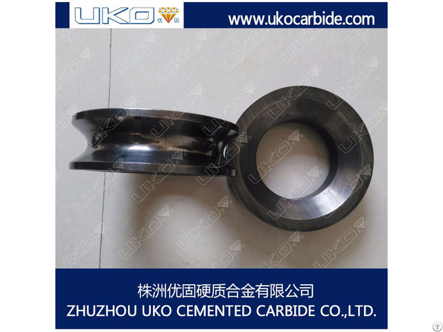 Uko Tungsten Carbide Straightening Roller For Wires And Profile Rods