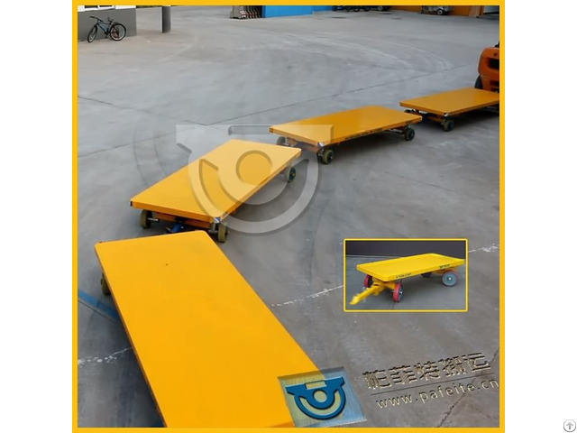 Production Line Equipment Handling Trackless Trolley