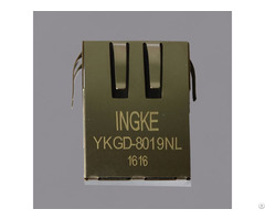 Ingke Ykgd 8019nl 100% Cross Hfj11 1g04e L12rl Rj45 Magnetic Modular Jacks