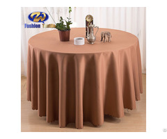 Brown Round Cloth Table Covers Online