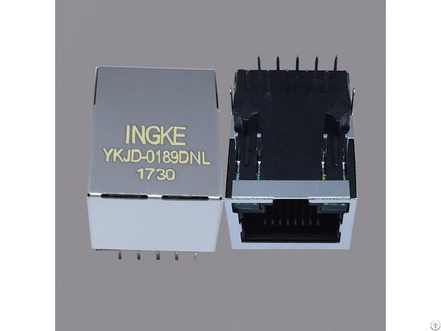 Ingke Ykjd 0189dnl 100% Cross 7499210121a We Poe Rj45 Magnetic Modular Jacks