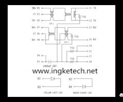 Ingke Ykju 8199nl 100% Cross Arjc01 111002l Rj45 Magnetic Jack Connector