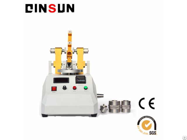 Taber Abrasion Resistance Test Machine